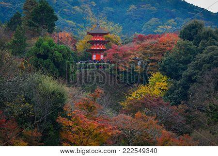 Kiyomizu-dera Temple In Kyoto, Japan