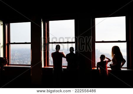 First Viewing Level Of The Empire State Building