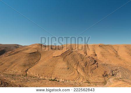 Desert somwhere in Africa, not so far from Atlas mountains