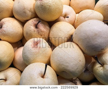 yellow pyrus background, group of pyrus, thailand