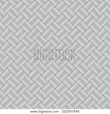 Interlacing. Seamless background. A pattern for your design.Vector illustration. Eps 10.