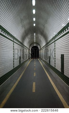 A Tunnel to Nowhere with Cycle Path