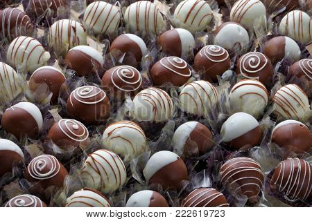 Traditional chocolate candies for Brazilian parties