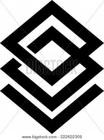 Letter B L Modern Logo Design Template Vector