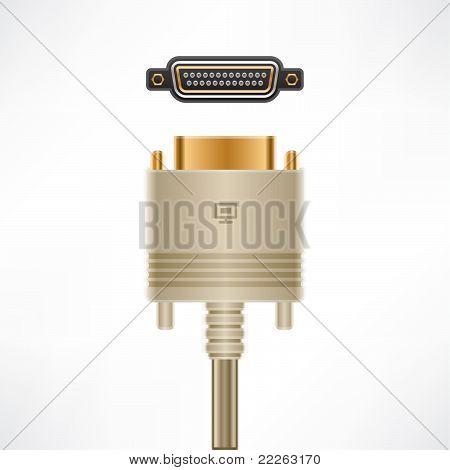 Computer Cable & Plug