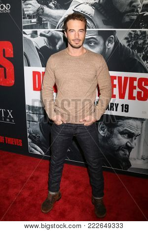 LOS ANGELES - JAN 17:  Ryan Carnes at the