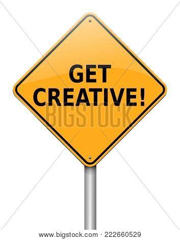 Get Creative Concept.