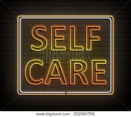Self Help Concept.