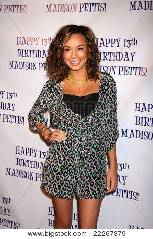 LOS ANGELES - JUL 31:  Savannah Jayde arriving at the13th Birthday Party for Madison Pettis at Eden on July 31, 2011 in Los Angeles, CA