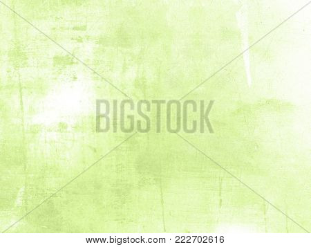 Light green background - abstract spring design in soft pale watercolor