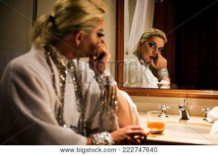 Russian drag queen