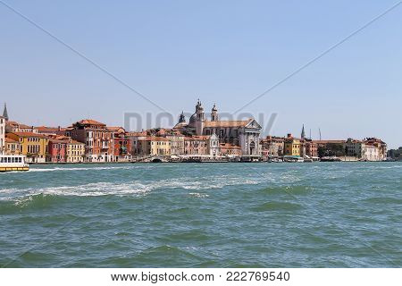 View of Venice from Giudecca Canal, Italy