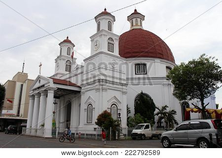 Arguably The Icon Of Kota Lama (old Town) Of Semarang, Indonesia.