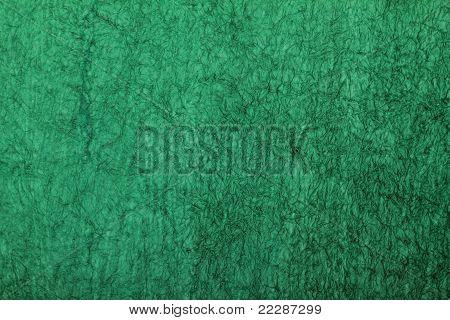 green grunge art handmade paper