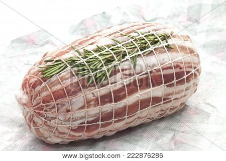 rolled veal roast with rosemary rolled veal roast with rosemary