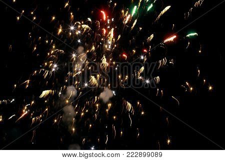 Celebrate Memorable Moments in Wedding with Fire Crackers Sparks