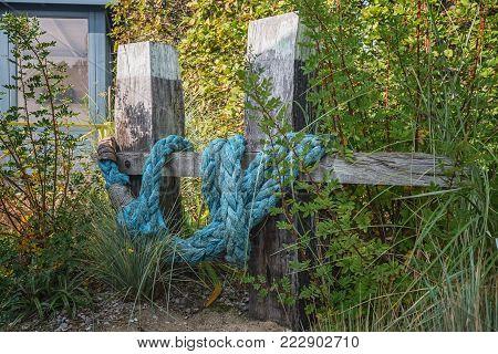 Maritime theme as decoration idea for the garden
