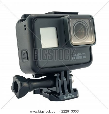 Gopro Hero 6 Black Isolated