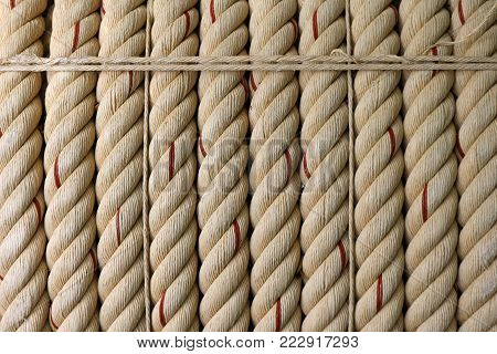 The Large rope background image for industry