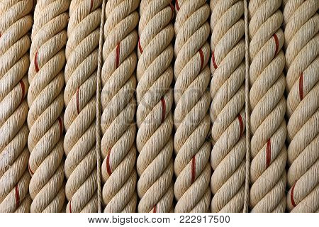 The Large rope background image for industry.