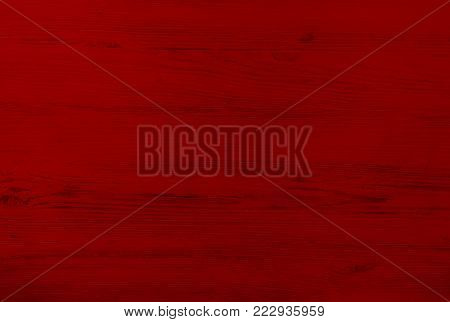 Wood texture background, red wood planks. Grunge wood wall pattern