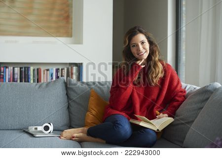 Relaxing With A Book