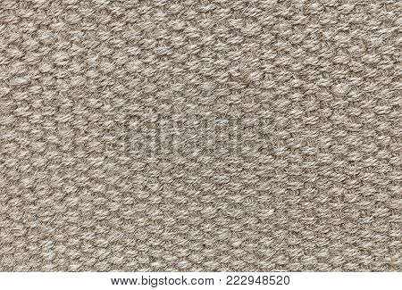 Background Pattern, Brown Handicraft Weave Texture Wicker Surface for Furniture Material.