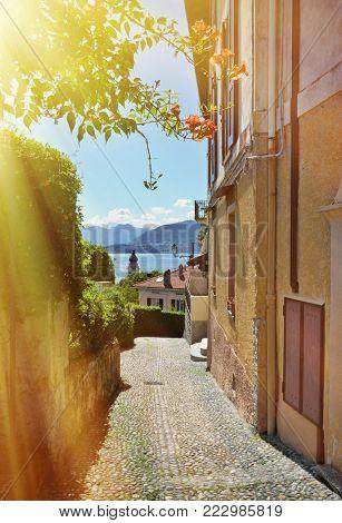 Menaggio town, Lake Como, Italy