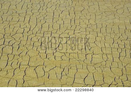 Background cracked ground of salt pan