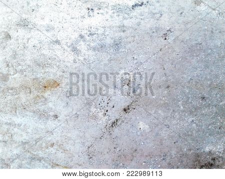 Old stain galvanized iron plate for texture background.
