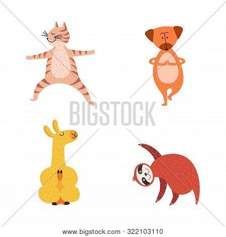 Cute Cartoon Animals Vector Photo Free Trial Bigstock