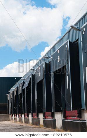 Row Of Loading Docks