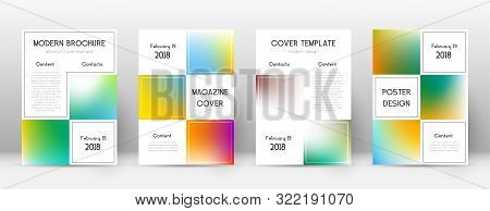 Flyer Layout. Business Outstanding Template For Brochure, Annual Report, Magazine, Poster, Corporate