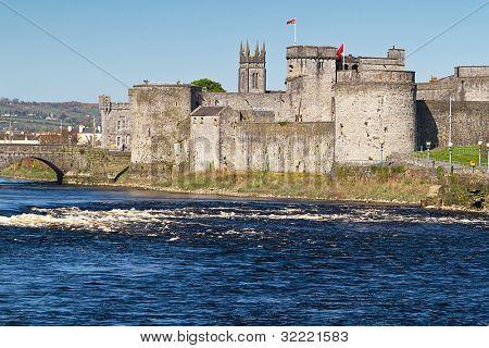 King John Castle in Limerick, Ireland poster