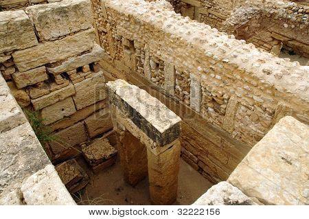 Roman Ruins Of Sufetula