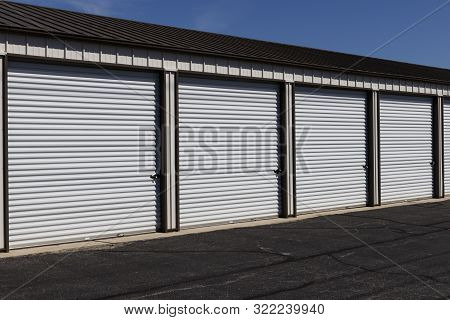Self Storage And Mini Storage Garage Units