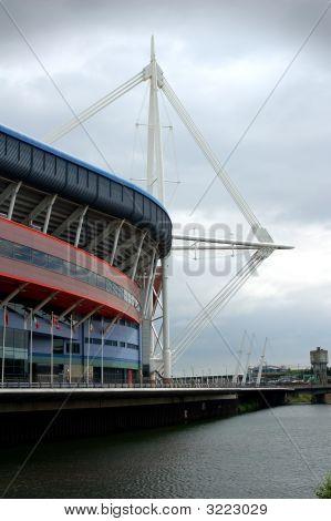 Millennium Stadium In Cardiff Wales Uk
