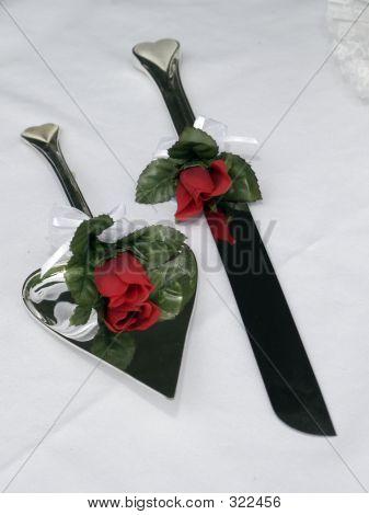 Wedding Knife Set