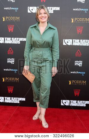 LOS ANGELES - SEP 13:  Emma Tammi at the 2019 Saturn Awards at the Avalon Hollywood on September 13, 2019 in Los Angeles, CA