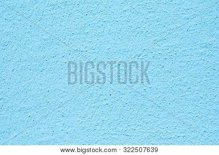 harmonic pattern of empty blue  plaster wall poster