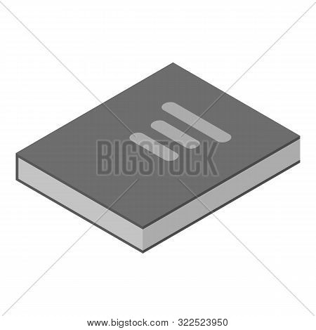 Book Of Laws Icon. Isometric Of Book Of Laws Vector Icon For Web Design Isolated On White Background