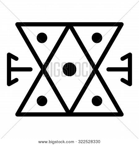 Medieval Alchemy Icon. Outline Medieval Alchemy Vector Icon For Web Design Isolated On White Backgro