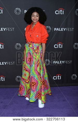 LOS ANGELES - SEP 14:  Arica Himmel at the PaleyFest Fall TV Previews - ABC at the Paley Center for Media on September 14, 2019 in Beverly Hills, CA