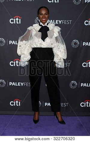 LOS ANGELES - SEP 14:  Tika Sumpter at the PaleyFest Fall TV Previews - ABC at the Paley Center for Media on September 14, 2019 in Beverly Hills, CA