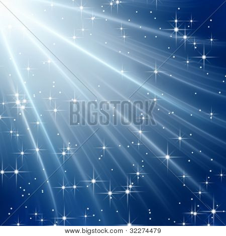 Fantasy starry background