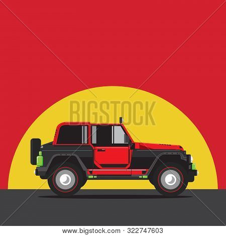 Vehicle, Vector, Rallying, Illustration, Service, Automobile, Unlimited, Three-quarter, Profile, Lor