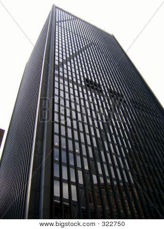 Black And White Skyscraper