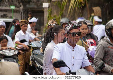 Stau In Bali