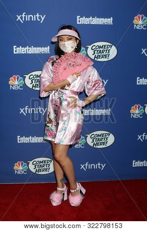 LOS ANGELES - SEP 16:  Poppy Liu at the NBC Comedy Starts Here Event at the NeueHouse on September 16, 2019 in Los Angeles, CA