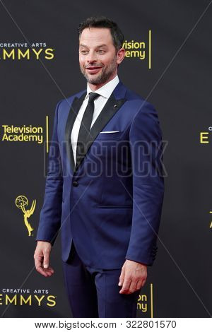 LOS ANGELES - SEP 14:  Nick Kroll at the 2019 Primetime Emmy Creative Arts Awards at the Microsoft Theater on September 14, 2019 in Los Angeles, CA